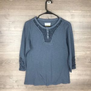 3/$25🛍️ Cabela's Women's Henley Shirt Top
